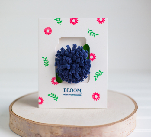 Card-Rebecca-Bloom Where You Are Planted