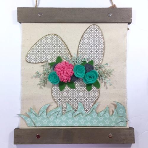 Jillibean Soup _ Kristine Davidson _ Hanging Canvas _ Easter Bunny 1 JBS1276_March 2018