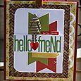 Hello friend card danni reid