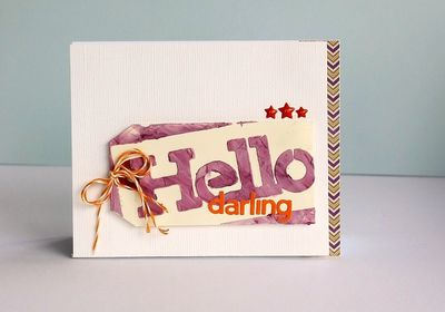 Card-Sarah-Hello Darling