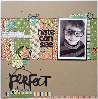 Nate Can See Perfect - Kristine Davidson