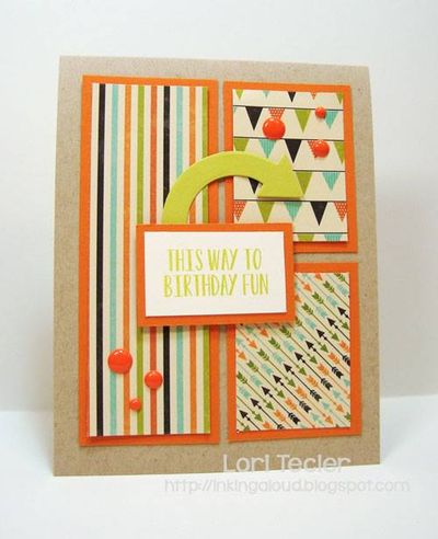 This Way To Fun Card-Lori Tecler