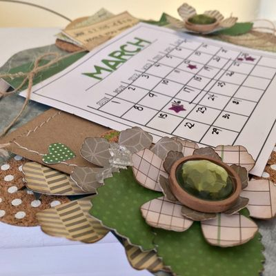 March Calendar 2 - Kristine Davidson