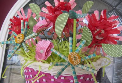Jen-Bicycle Basket Bouquet CU
