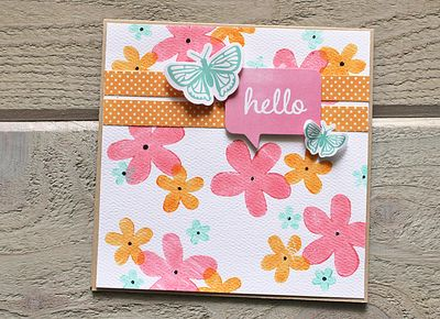 Hello Card by Kimberly Crawford