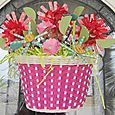 Jen-Bicycle Basket Bouquet