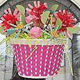 Jen-Bicycle Basket Bouquet