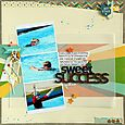 Sweet Success layout by Sarah Webb