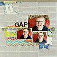 Mind the Gap layout by Sarah Webb