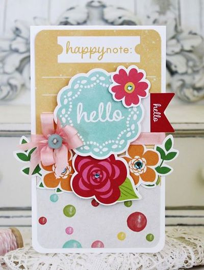 Melissa Phillips-Hello Card