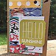 Hello Sunshine Card-Kristine Davidson