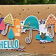 Rain Or Shine Hello Card-Kristine
