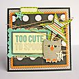Nicole-too cute to spook card