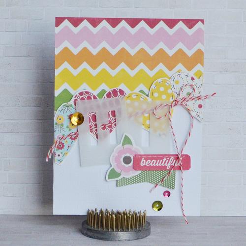 Card-Amy-Hi Beautiful