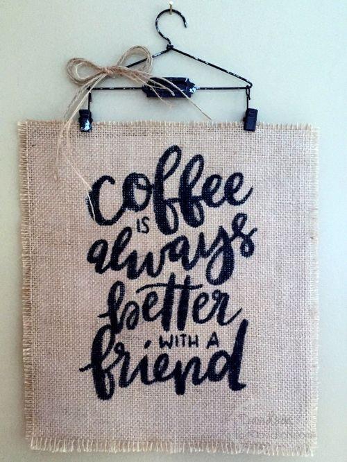 Coffee Hanger - Kristine Davidson