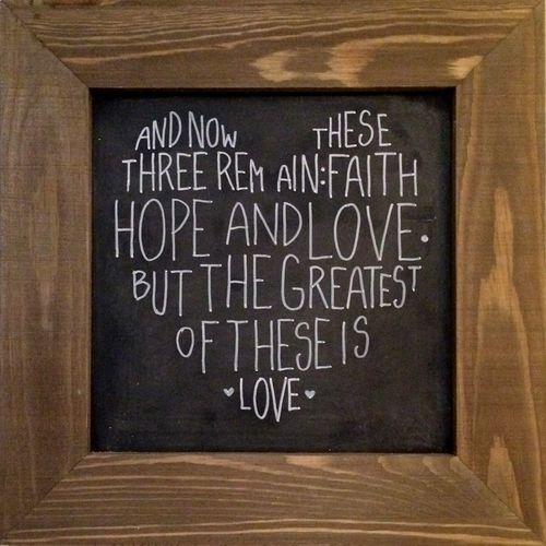 The Greatest is Love Chlkbd. Pfolchert (1024x1024)