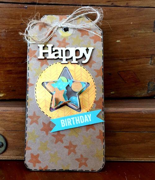 Birthday Tag - Kristine Davidson