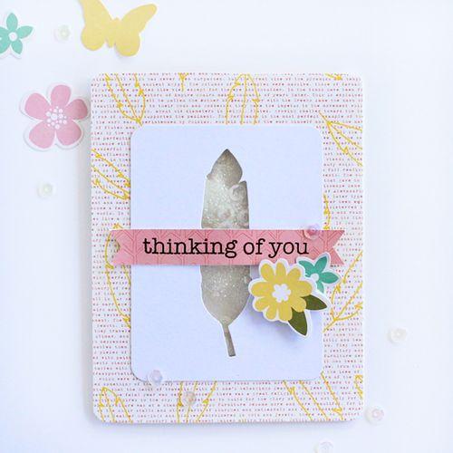 ThinkingOfYou card by Gail