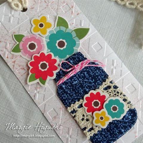 Margie Fuji Higuchi-Sew Sweet Sunshine Bookmark