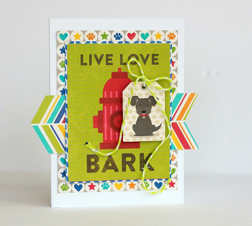 Bark card by Sarah Webb