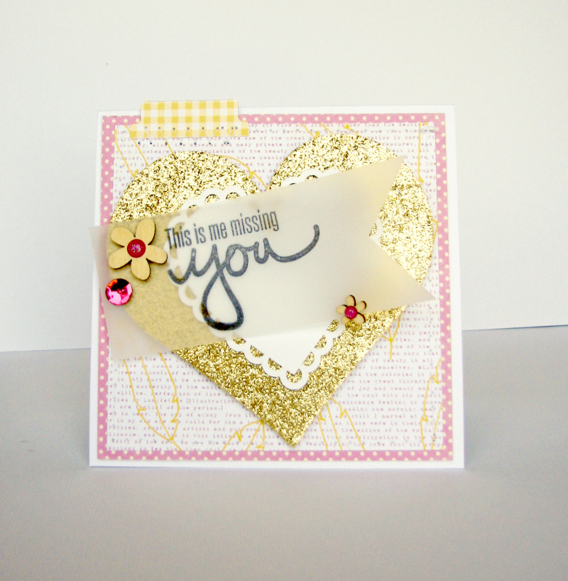 Nicole-this is me missing you card
