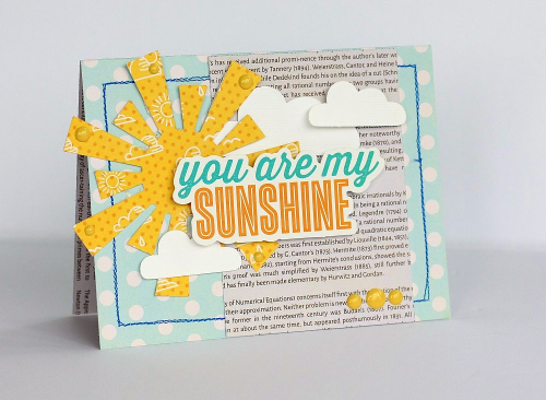 You are my Sunshine card by Sarah Webb-002