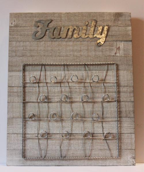 Patty-Family Photo Board