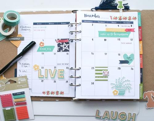 Wendy-November Calendar Planner
