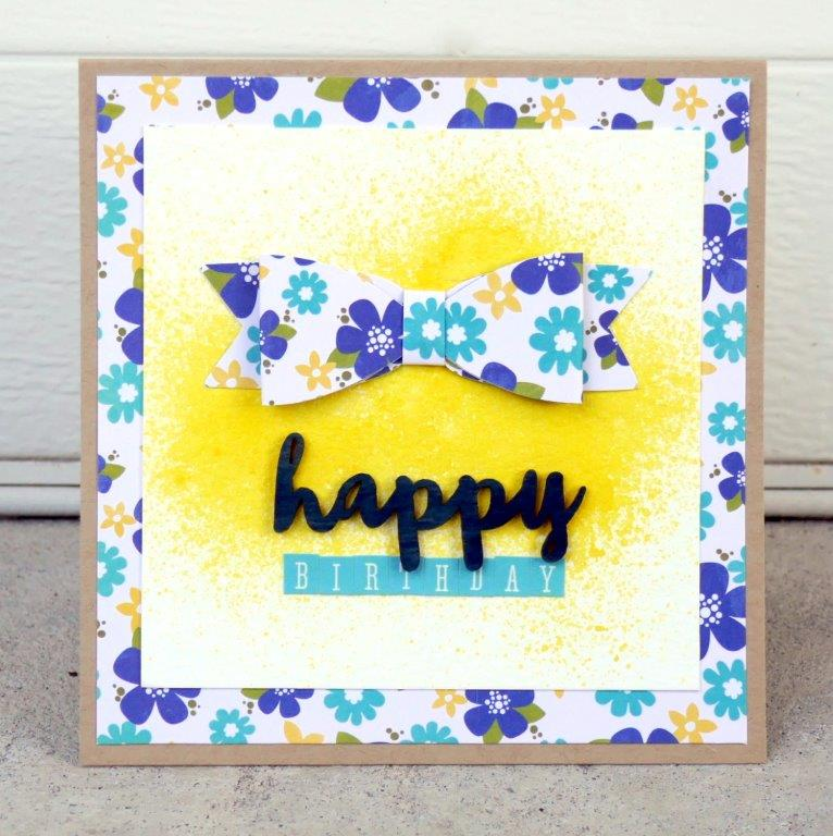 Happy Birthday Card-Kat