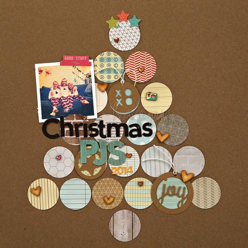 Corrie-Christmas PJs Layout