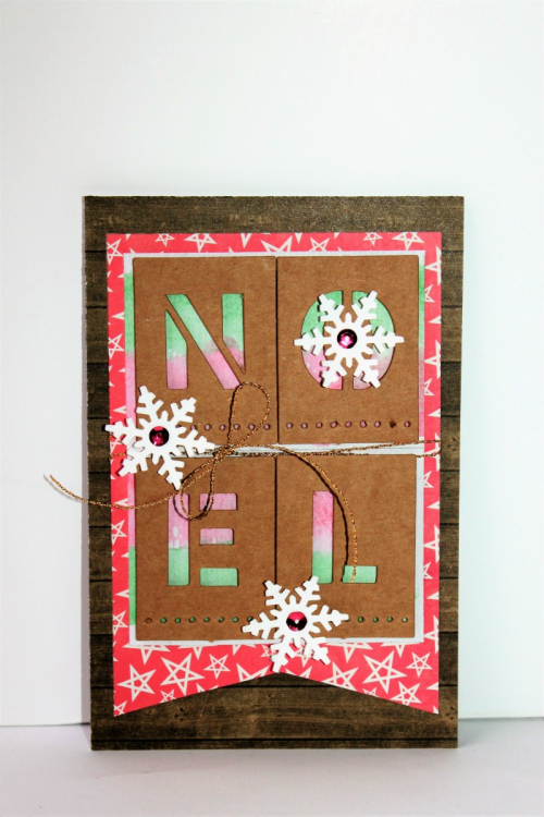 Noel Card Pfolchert