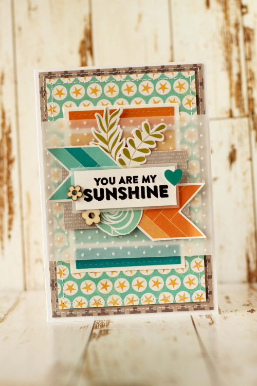 Julia-You Are My Sunshine Card