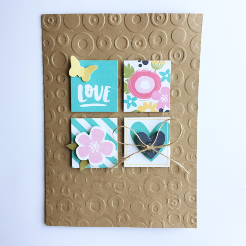 Love Square Card-Krisitne