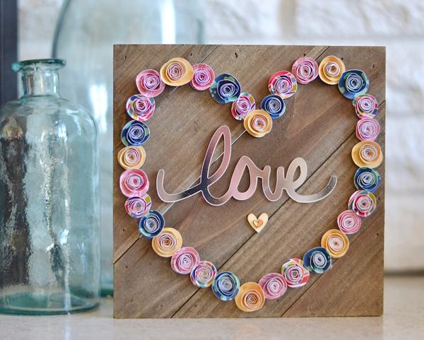 Brandi-Paper Rose Love Sign #1