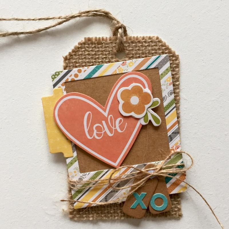 Love XO tag - Kristine Davidson