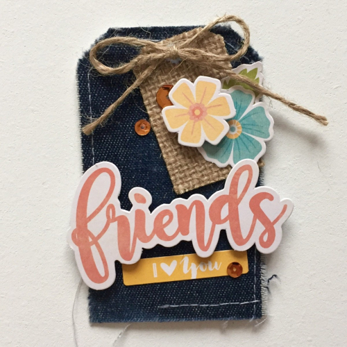 Friends Tag - Kristine Davidson
