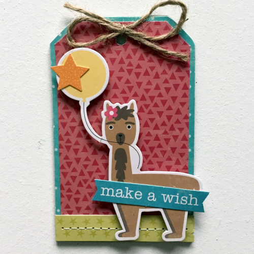 Make A Wish tag - Kristine Davidson