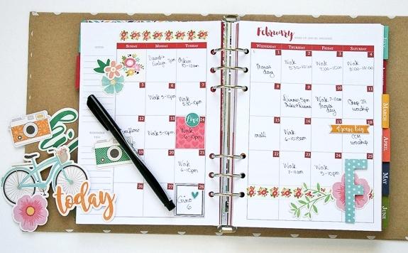 Wendy-February Calendar