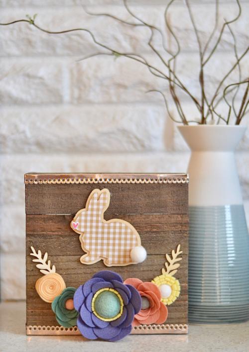 Brandi-Bunny Plank Sign #1