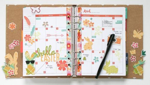 Wendy-April Calendar