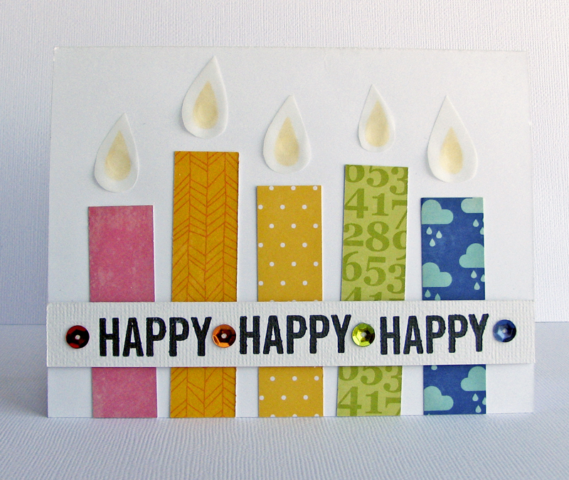 Nicole-Happy Happy Happy card