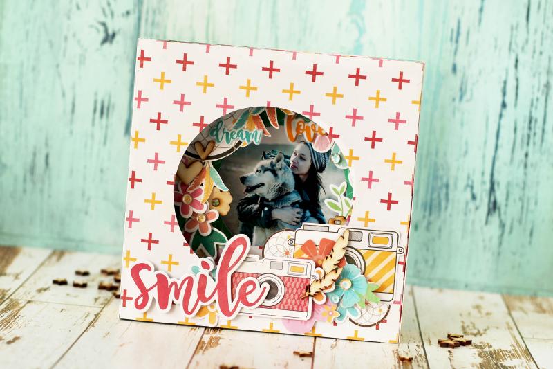 Julia-Smile Card