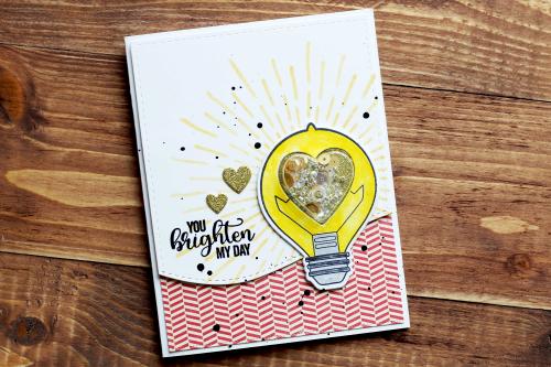 Card-Julia-You Brighten My Day