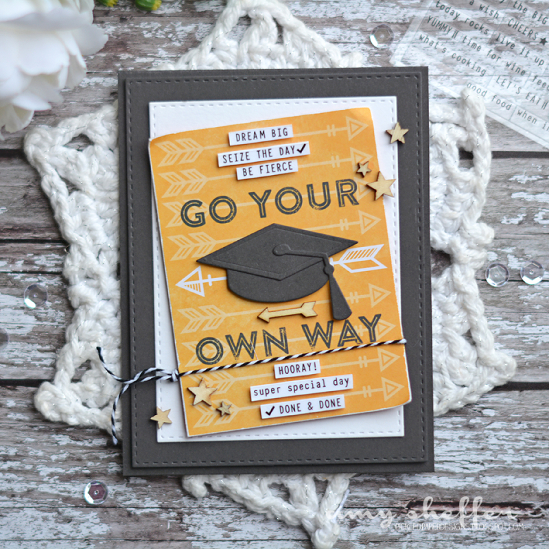 Amy S. Go Your Own Way Card