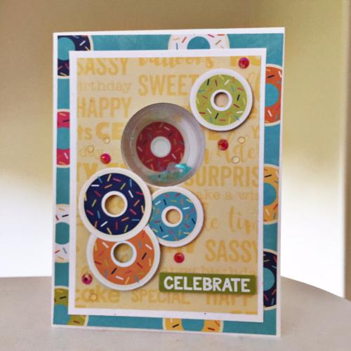 Celebrate Card-Kristine