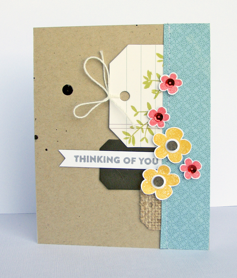 Nicole-Thinking of you card