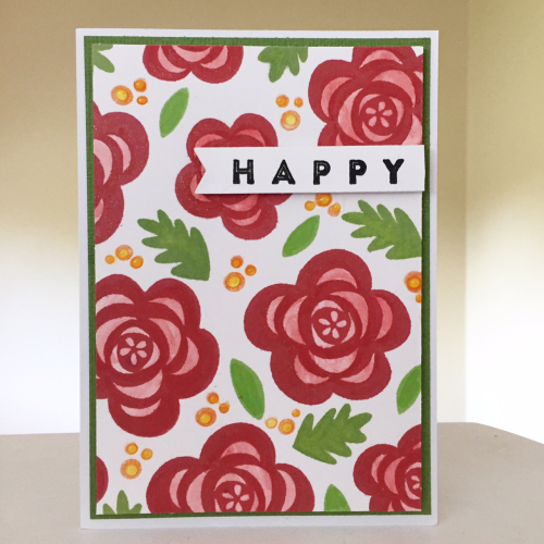 Happy Card-Kristine