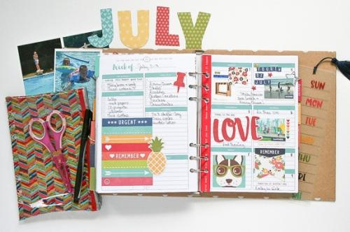 July planner - Wk1