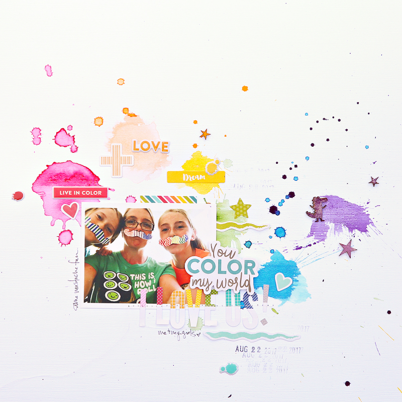 LO-You Color My World-Corrie