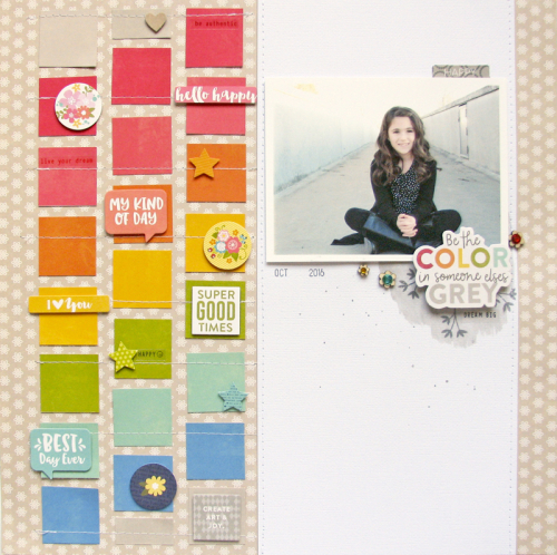 Nicole-Be the color layout